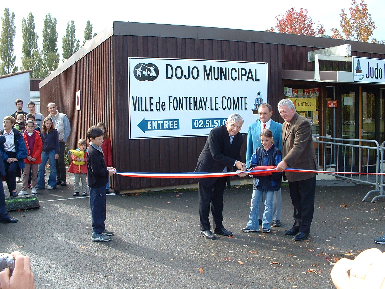 inauguration dojo 2004