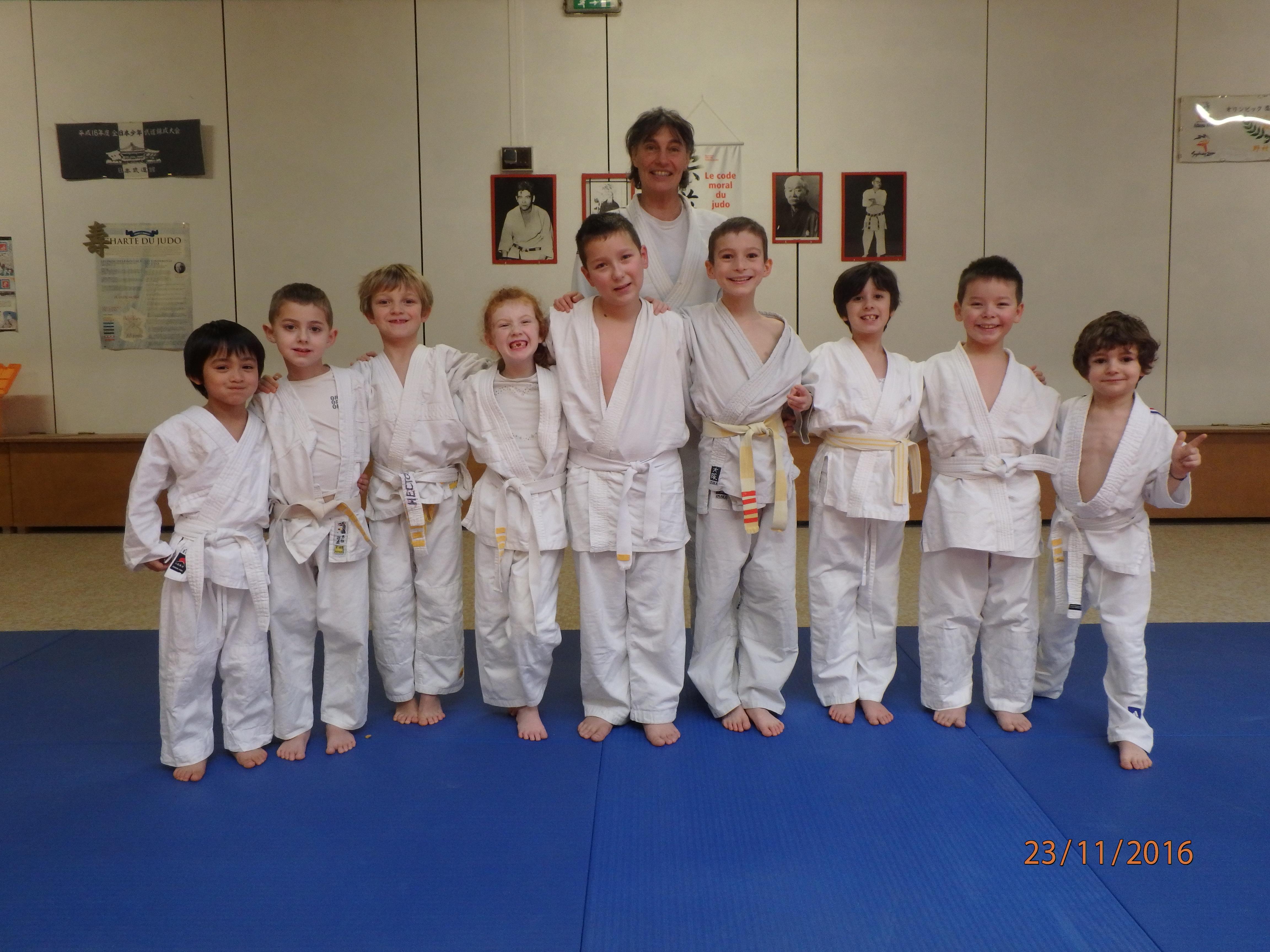 Judo enfants 11h